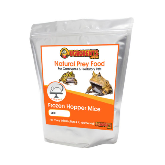 Frozen Feeder Hopper Mice For Sale