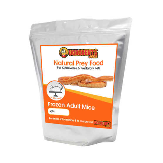 Frozen Adult Feeder Mice For Sale